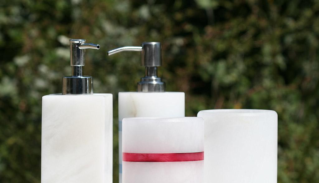 Etruria alabastri Volterra - accessori bagno in alabastro