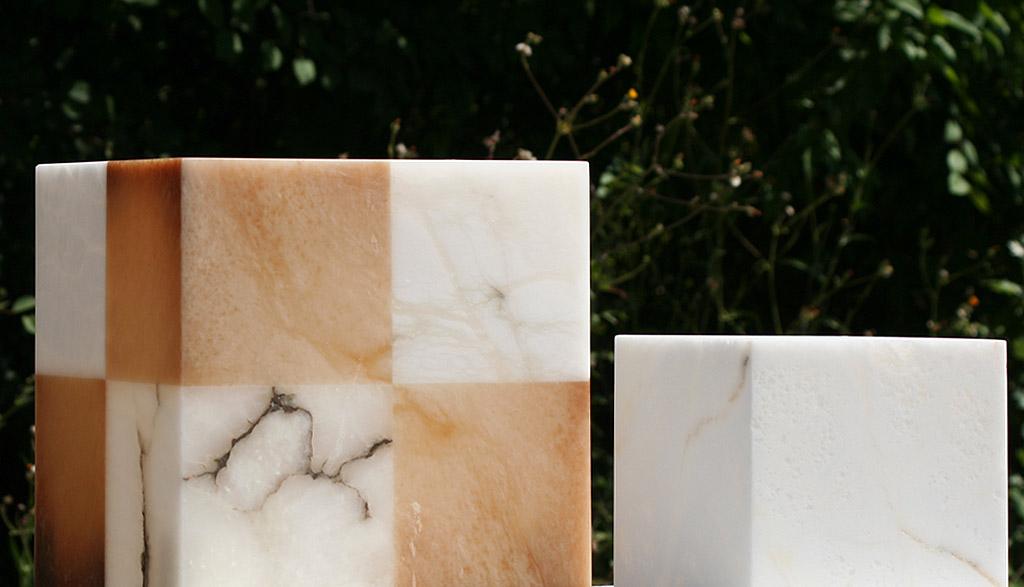 Etruria alabastri Volterra - lampada in alabastro
